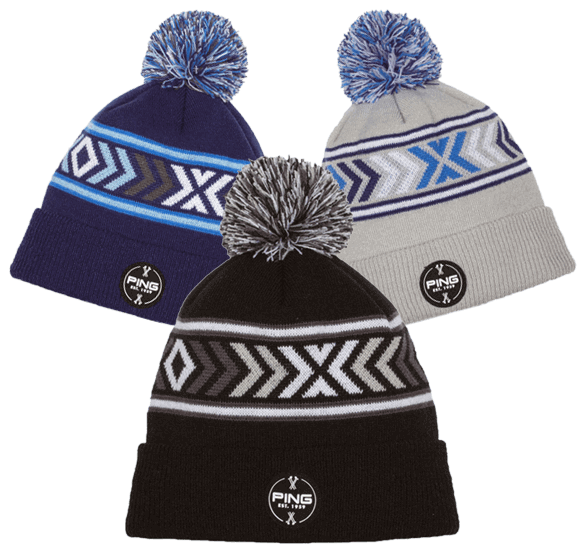 PING Nordic Knit Bobble Hat