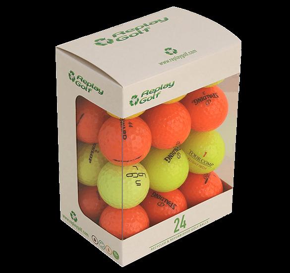 Replay Coloured Lake Balls 24 Ball Pack