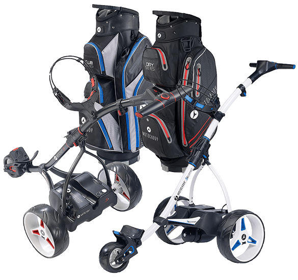 20% off Motocaddy Bags with Motocaddy Electric Trolleys