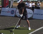 Video: American Golf pro Matt Nicole goes for a World Record