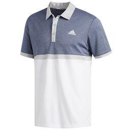 f8eb1cd7 adidas Golf Advantage Heather Block Polo Shirt