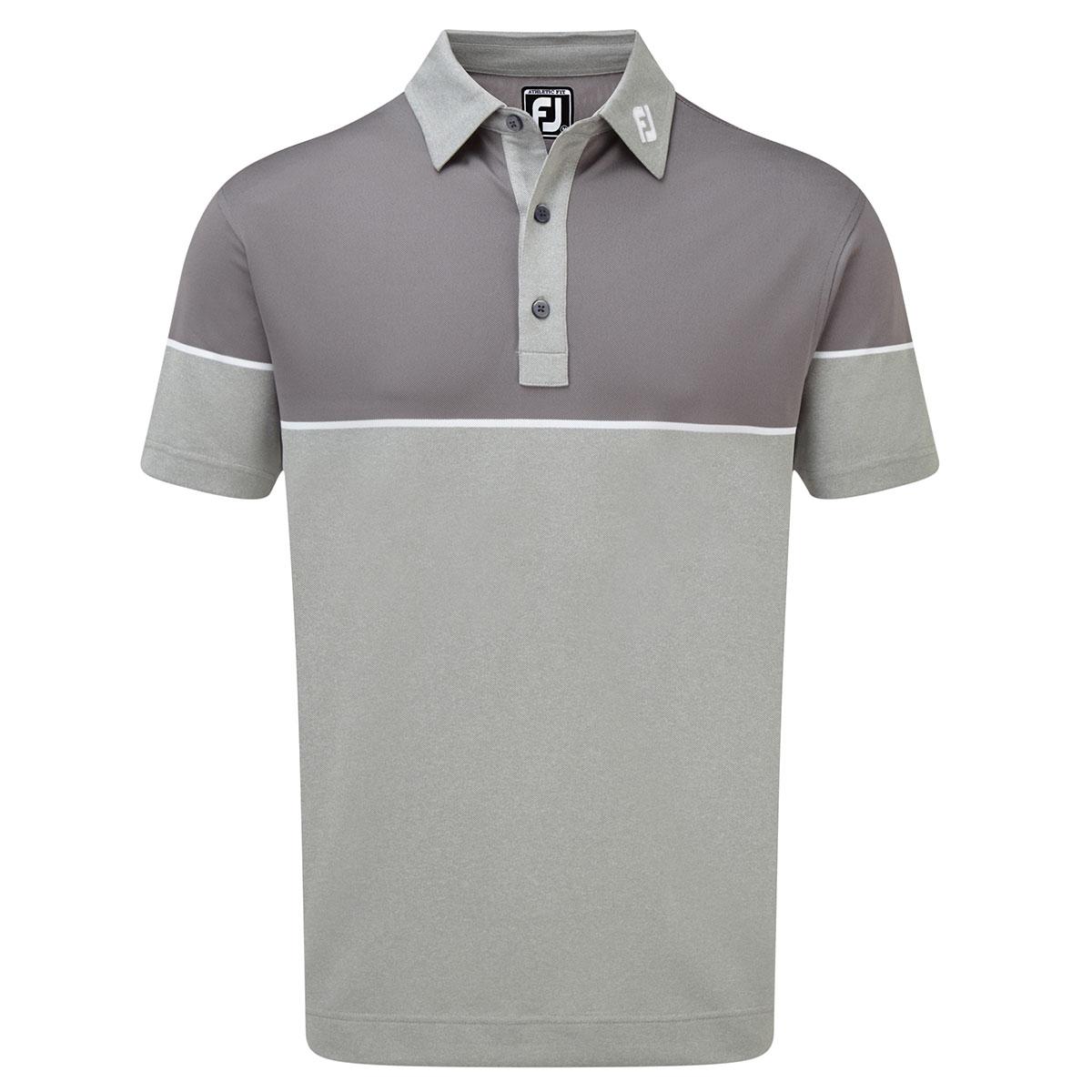 cb0f3239 FootJoy Colour Block Pique Polo Shirt from american golf