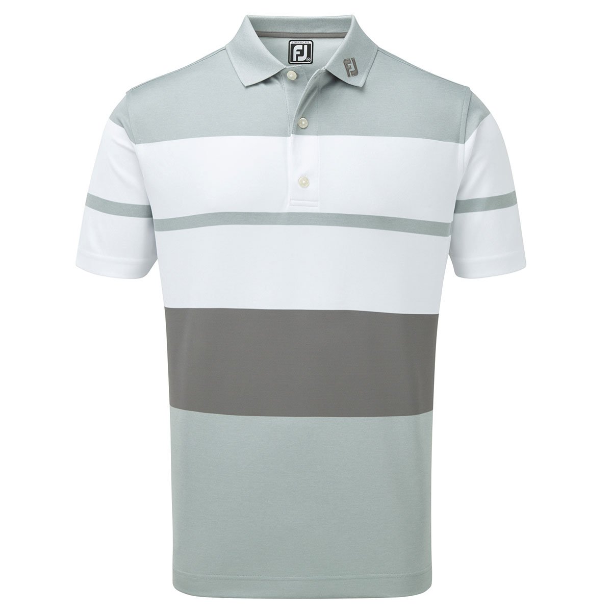 691b7804 FootJoy Stripe Block Smooth Polo Shirt from american golf