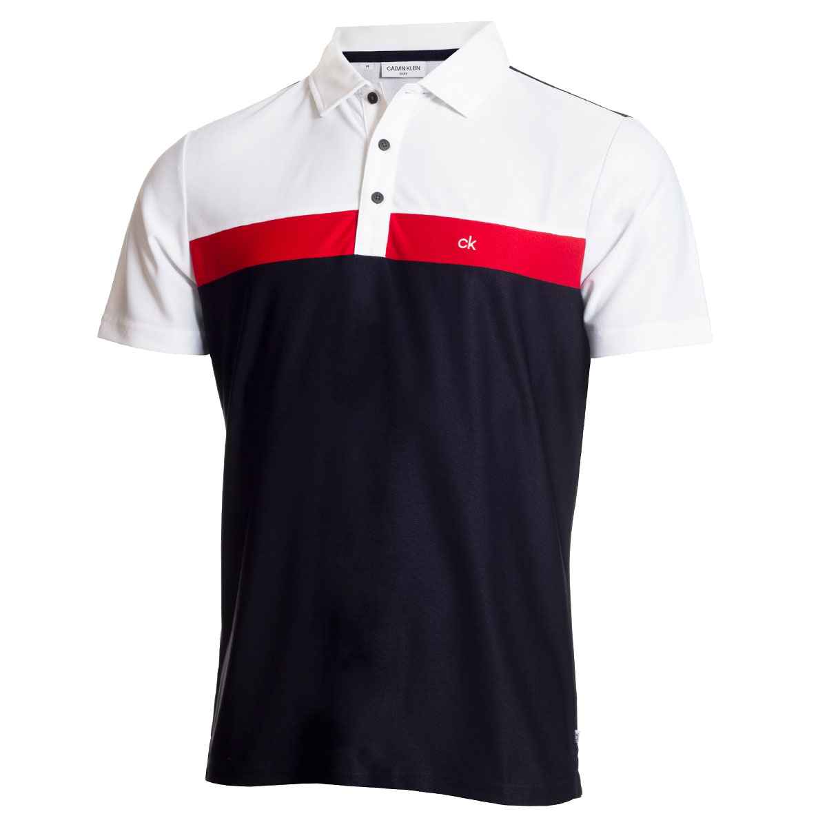 zapatos deportivos f4d9c 97543 Calvin Klein Block Polo Shirt