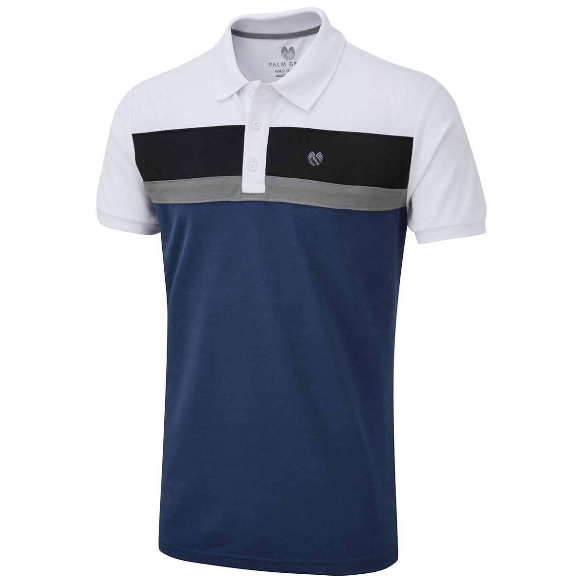 Palm Grove Colour Block Polo Shirt from american golf