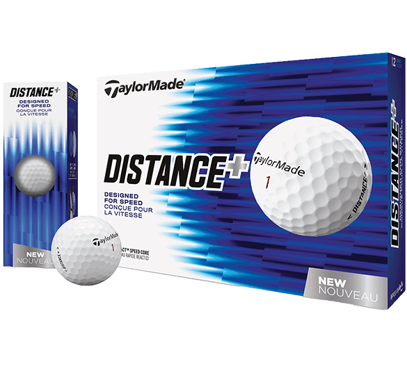TaylorMade Distance Plus 12 Ball Pack