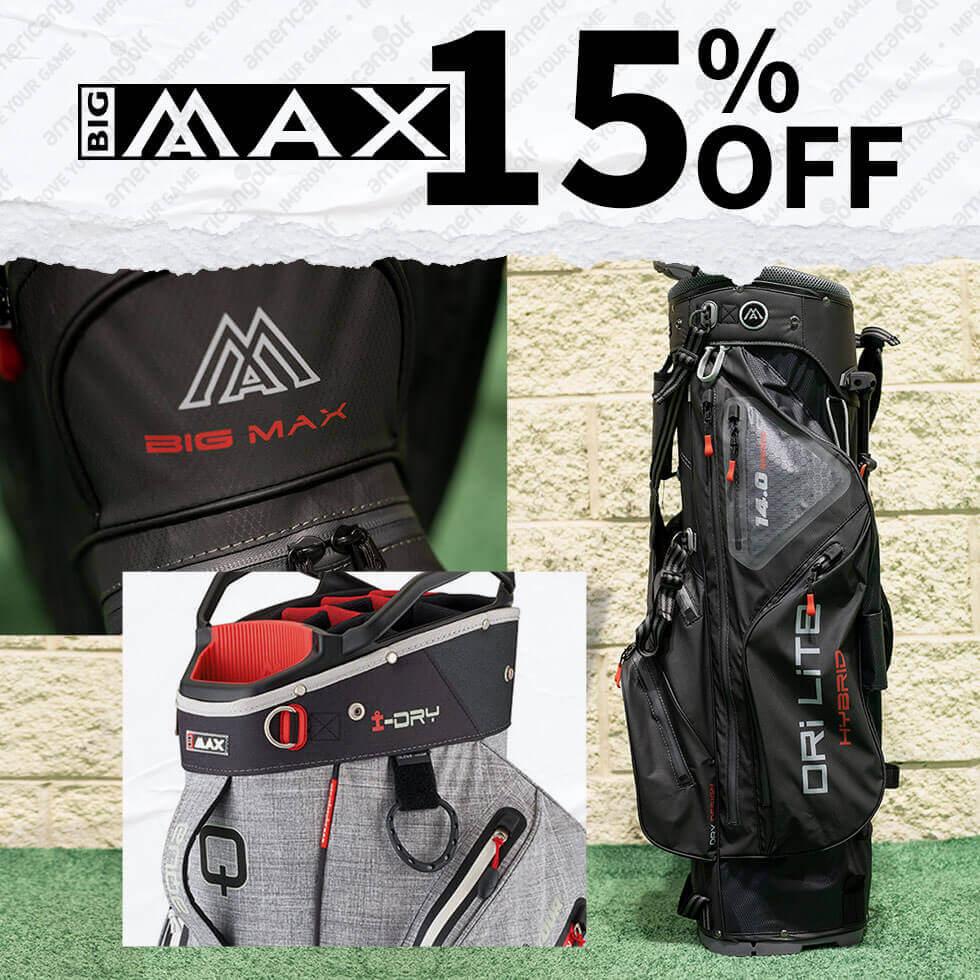 15% Off Big Max