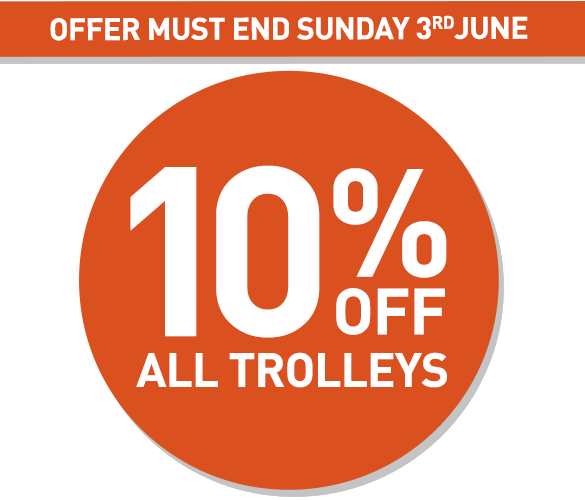 10% Off Trolleys