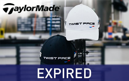 WIN a BRAND NEW Taylormade TwistFace Cap