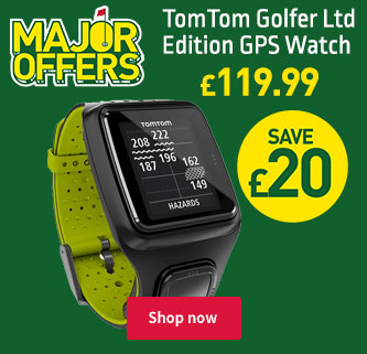Major Offers: TomTom Golfer Limited Edition GPS Watch. £119.99. Save £20