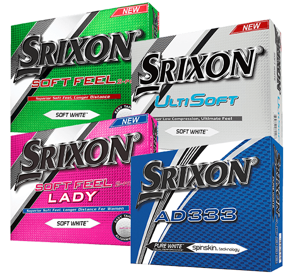 Srixon Soft Feel Ladies 12 Ball Pack