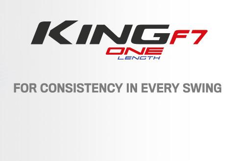 Cobra Golf King F7 Irons - One Length