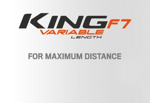 Cobra Golf King F7 Irons - Variable