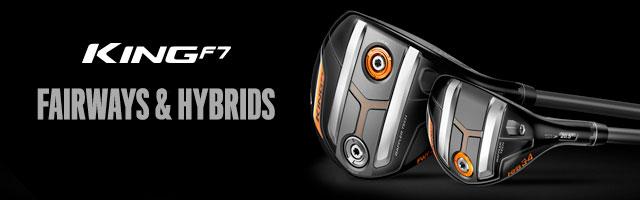 Cobra Golf King F7 Fairways and Hybrids