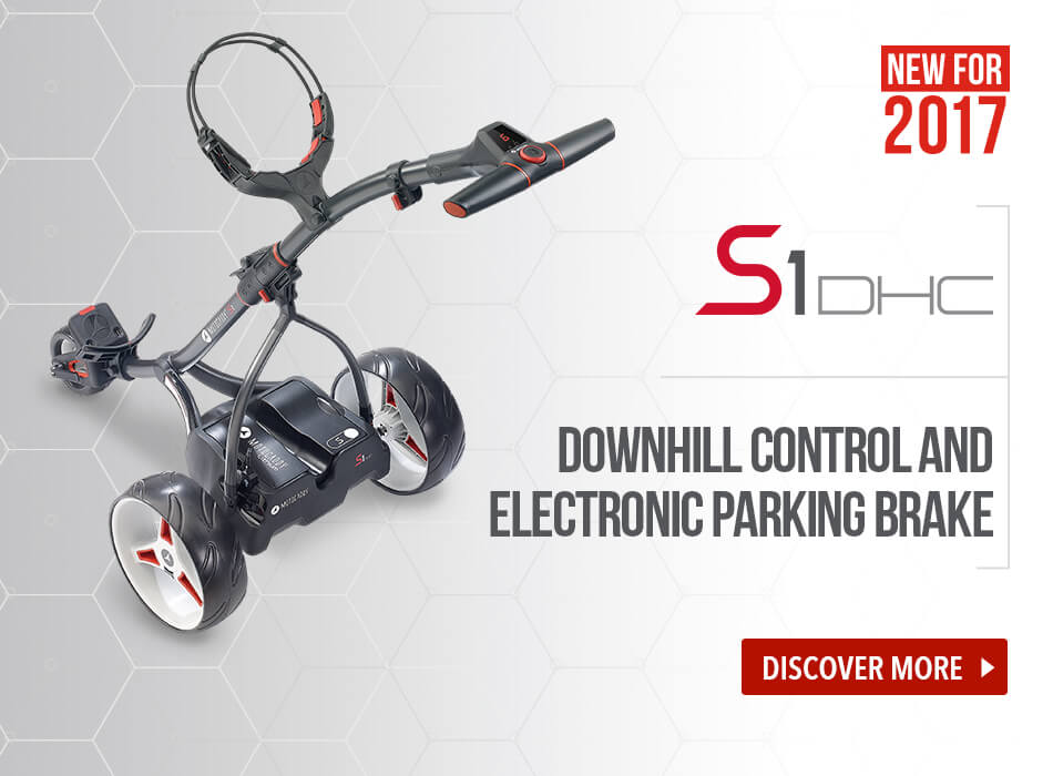 Motocaddy S3 Pro Electric Trolley