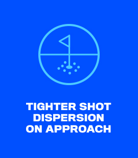 Tighter Shot Dispersion On Approach