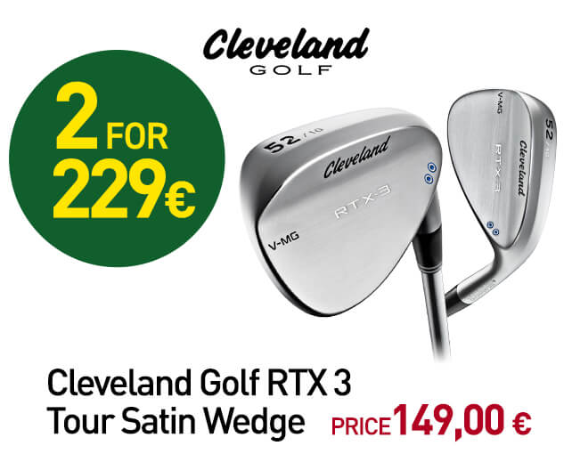 Cleveland Golf RTX 3 Tour Satin Wedge