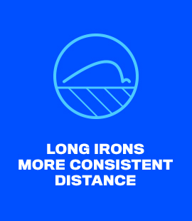 Long Irons More Consistent Distance