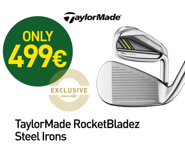 TaylorMade RocketBladez Steel Irons