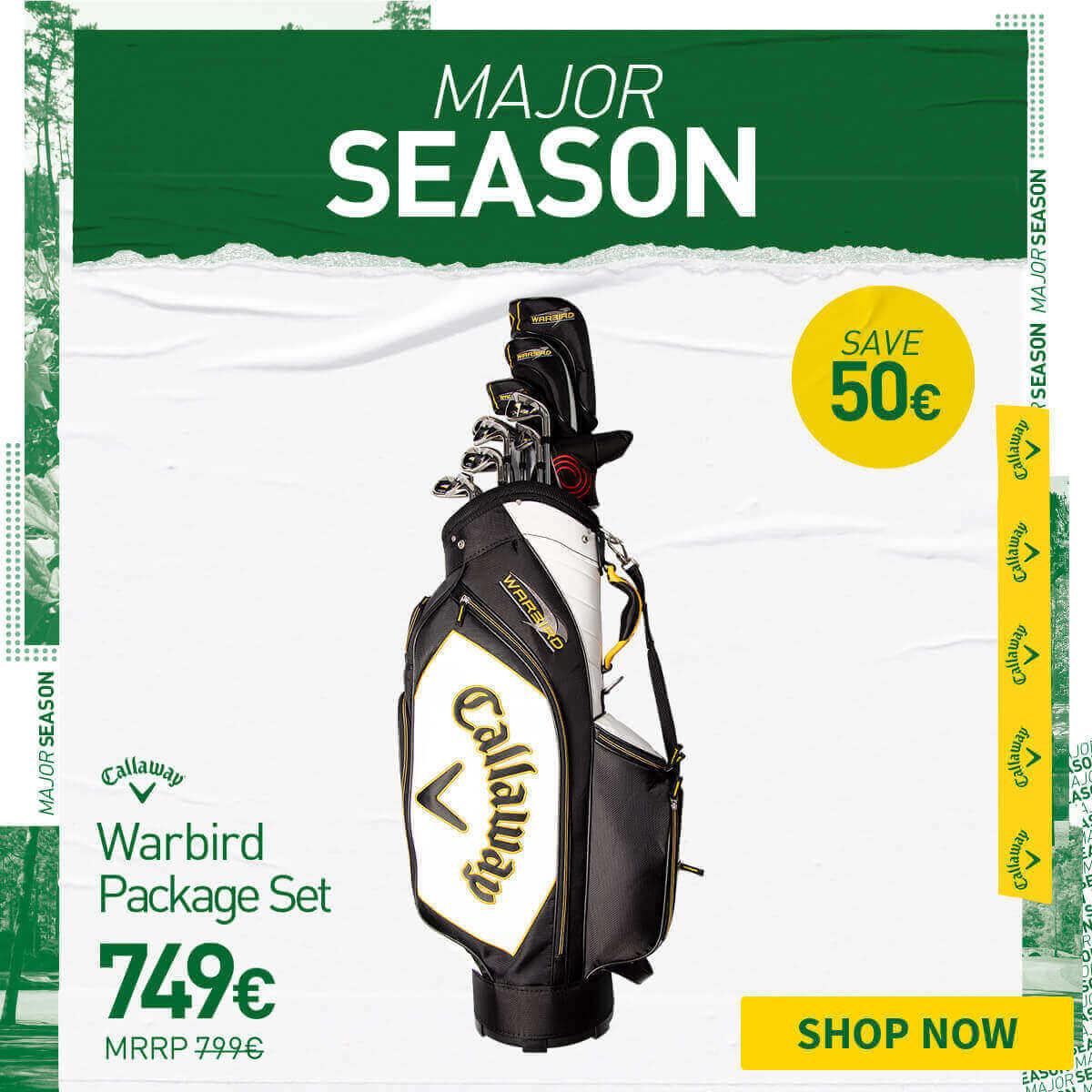 CALLAWAY WARBIRD PACKAGE SET - SAVE £50