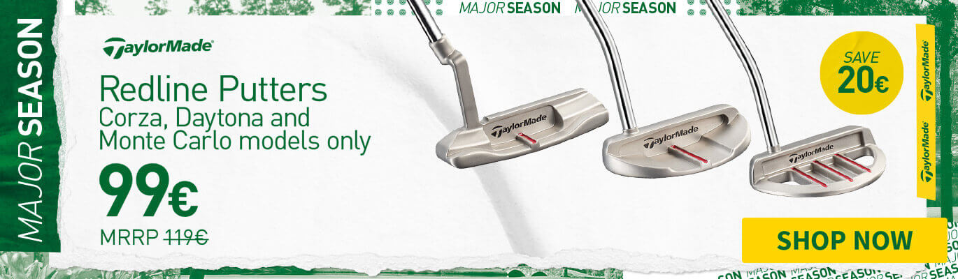 TAYLORMADE REDLINE PUTTERS - SAVE £10