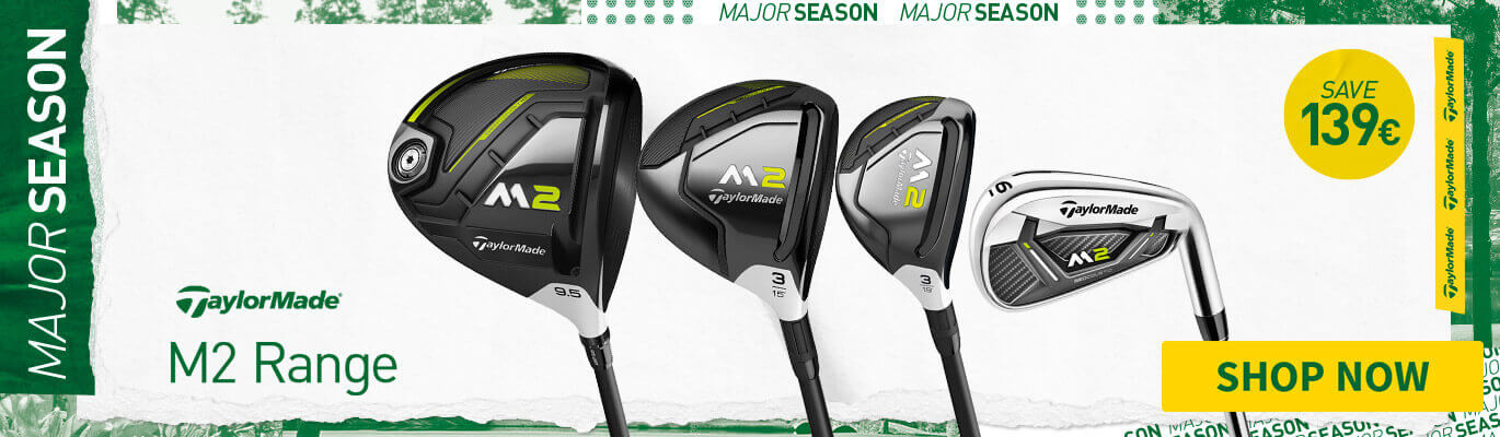 TAYLORMADE M2 RANGE - SAVE UP TO £300
