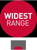 WIDEST Range