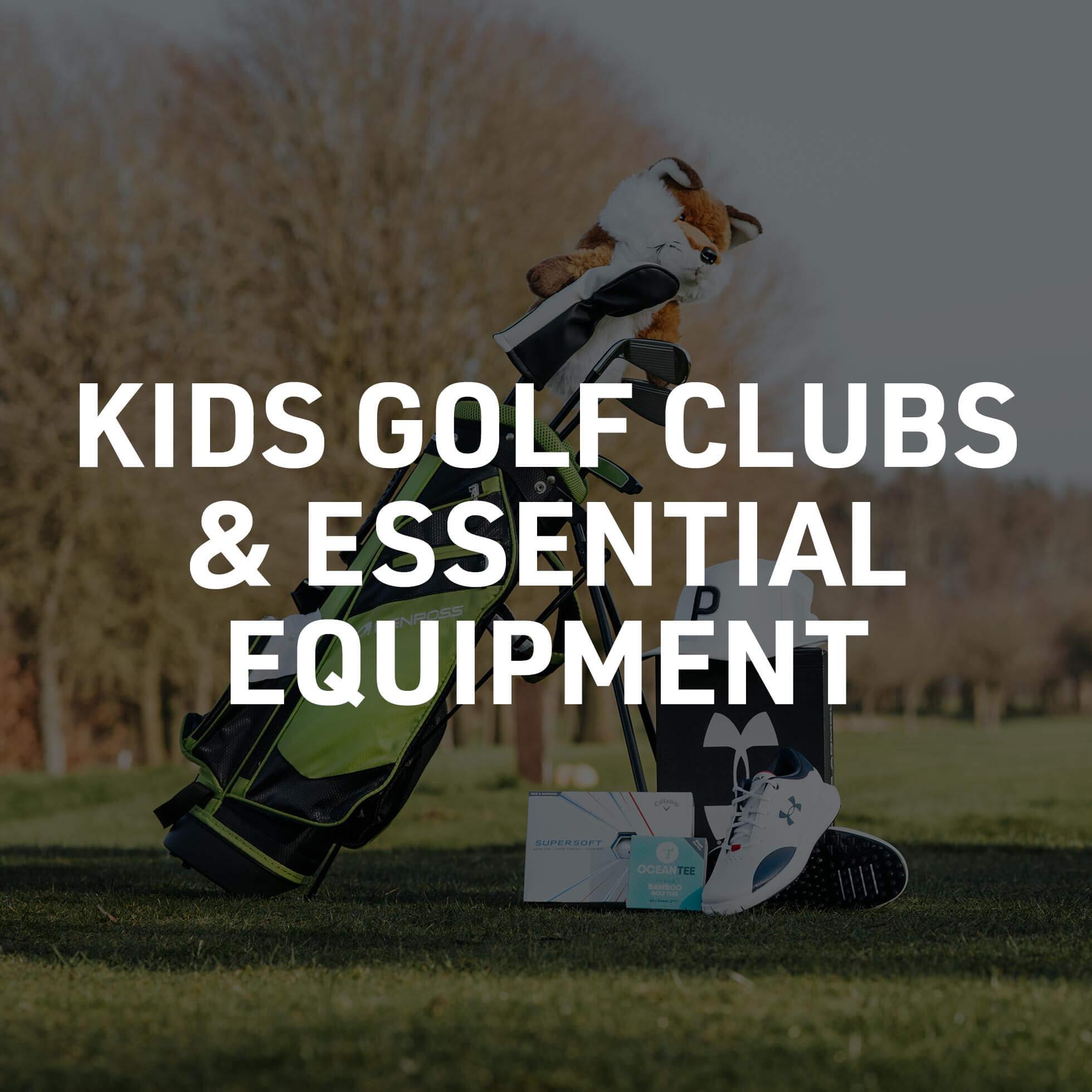 Get Them Into Golf Essential Equipment