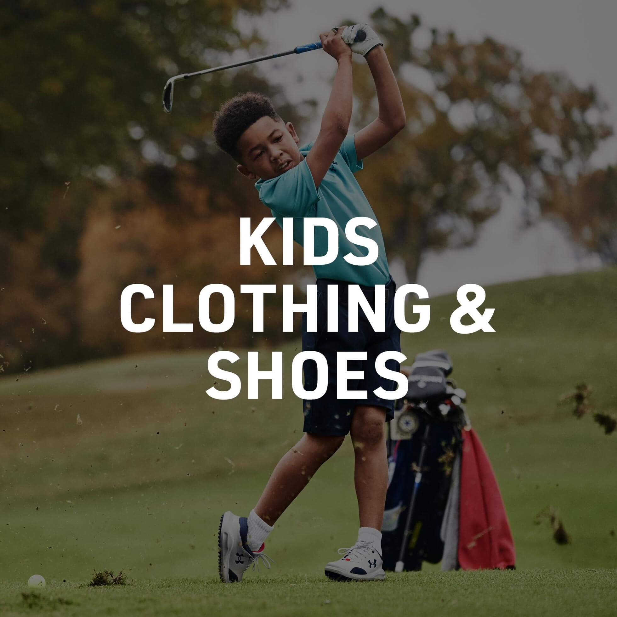 Get Them Into Golf Clothing & Shoes